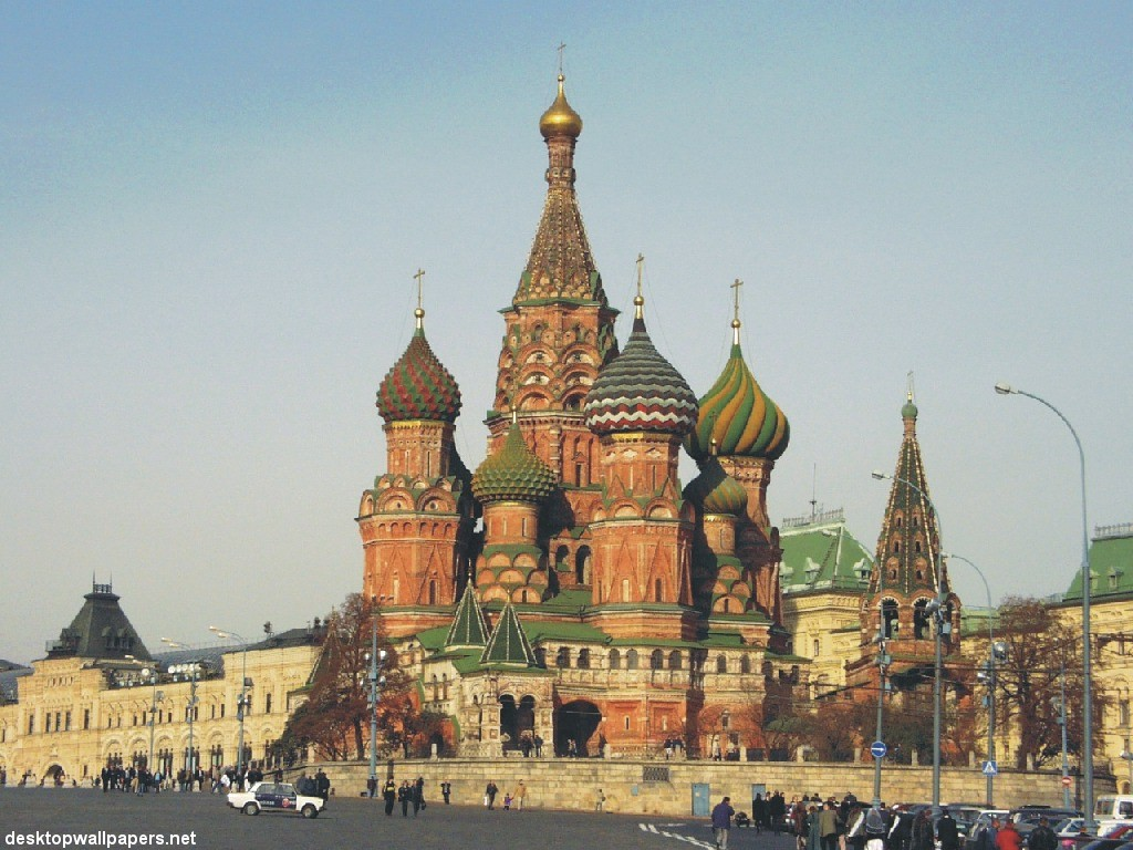 Description russia-moscow-saint basil's cathedral-2