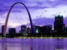 Skyline St. Louis, Missouri wallpaper